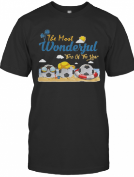The Most Wonderful Time Of The Year Soccer T-Shirt