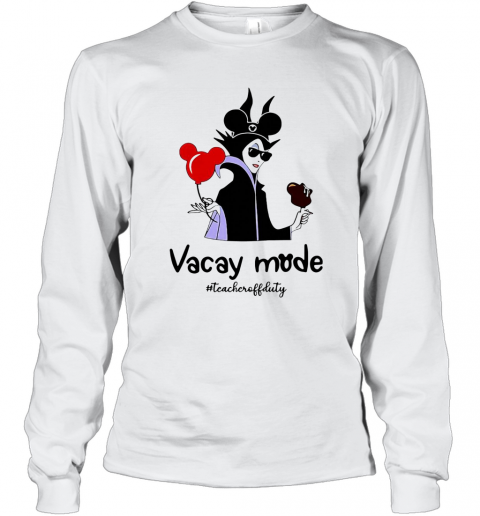 Vacay Mode Teacheroffduty T-Shirt Long Sleeved T-shirt
