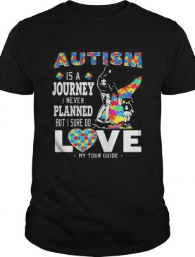 Autism is a journey i never planned but i sure do love my tour guide shirt