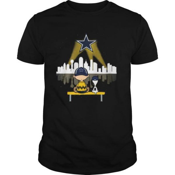 Charlie Brown And Snoopy Dallas Cowboys Football