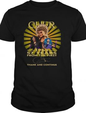 Cher 1963 57 years from the first thank and continue signature shirt