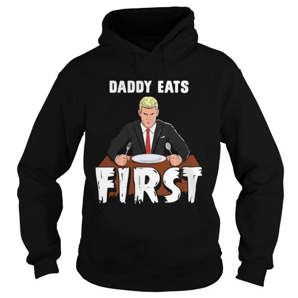 Cody Rhodes Daddy Eats First Halloween  Hoodie
