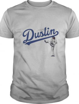 Dustin may los angeles dodgers baseball shirt