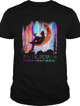 Freddy Krueger Horror Movie Into The Dream I Go To Lose My Mind And Find My Soul shirt