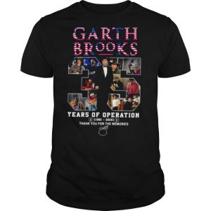 Garth Brooks 35 Years Of Operation 1985 2020 Thank You For The Memories Signature shirt