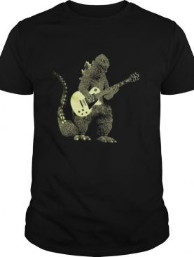 Godzilla Playing Guitar shirt