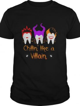 Halloween hocus pocus dental chillin like a villain shirt