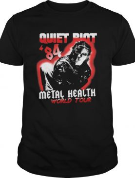 Halloween quiet riot 84 mental health world tour shirt