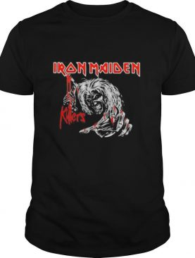 Iron maiden band skeleton killers shirt