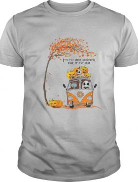 Jack Skellington Sally And Zero It's The Most Wonderful Time Of The Year shirt