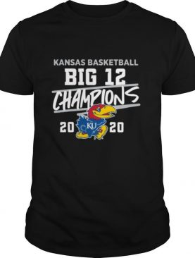 Kansas jayhawks basketball big 12 champions 2020 shirt