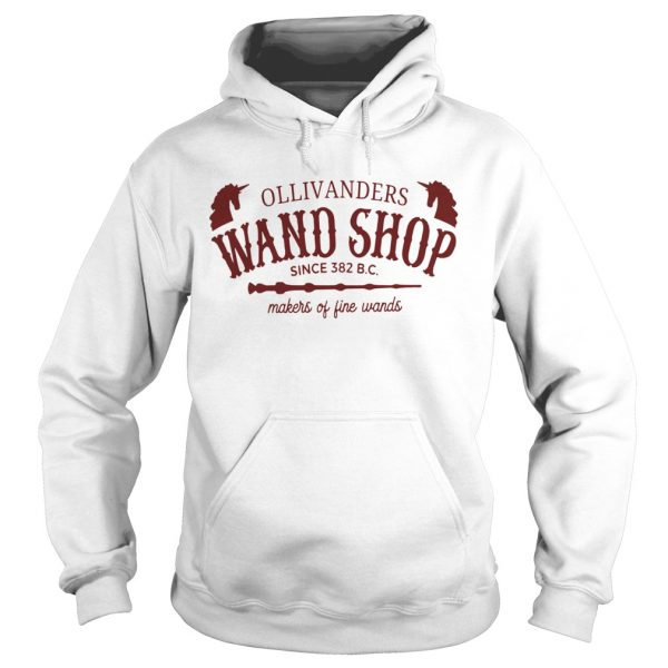 Ollivanders Wand Shop Sign 382 Bc Makers Of Fine Wands  Hoodie