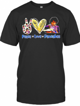 Peace Love Pancakes Diamond T-Shirt