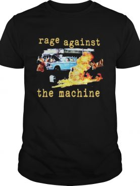 Rage against the machine fire shirt