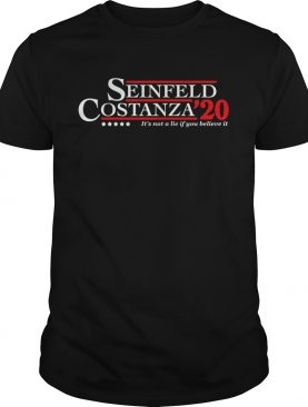 Seinfeld Costanza For 2020 President A Campaign About Nothing shirt