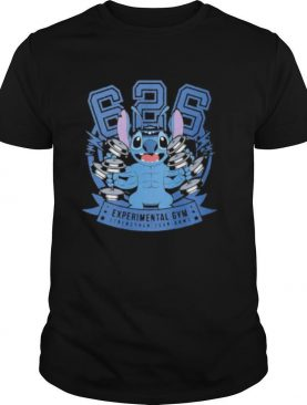Stitch experimental gym strengthen your arms shirt