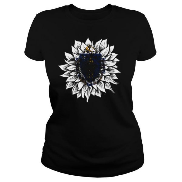 Sunflower Massachusetts Flag shirt
