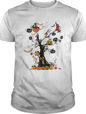 The Halloween Day Pumpkin Skull Ghost Cat shirt