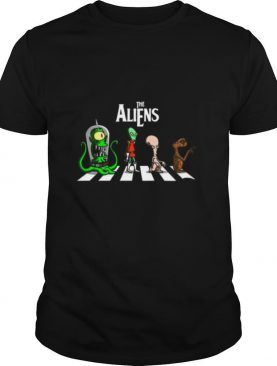 The aliens crossing the line shirt