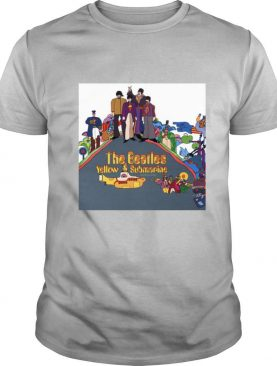 The beatles band yellow submarine nothing is real shirt