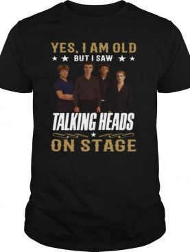 Yes I Am Old But I Saw Talking Heads On Stage
