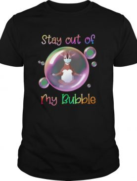 Yoga goat mask stay out of my bubble covid 19 shirt