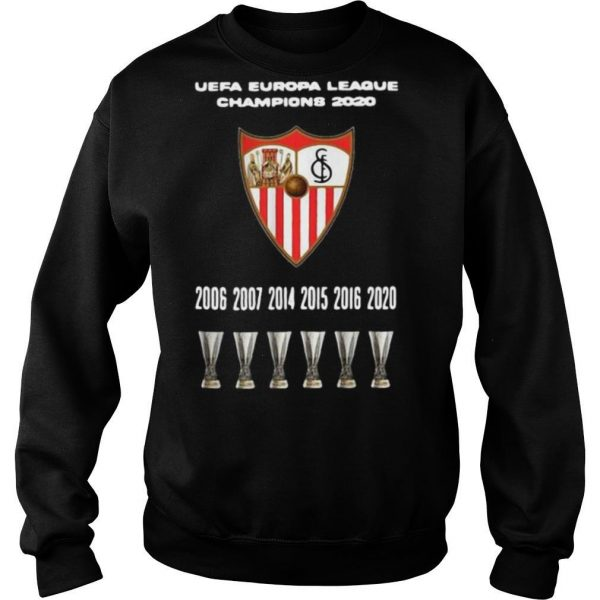 2020 Sevilla Champions Europa League shirt