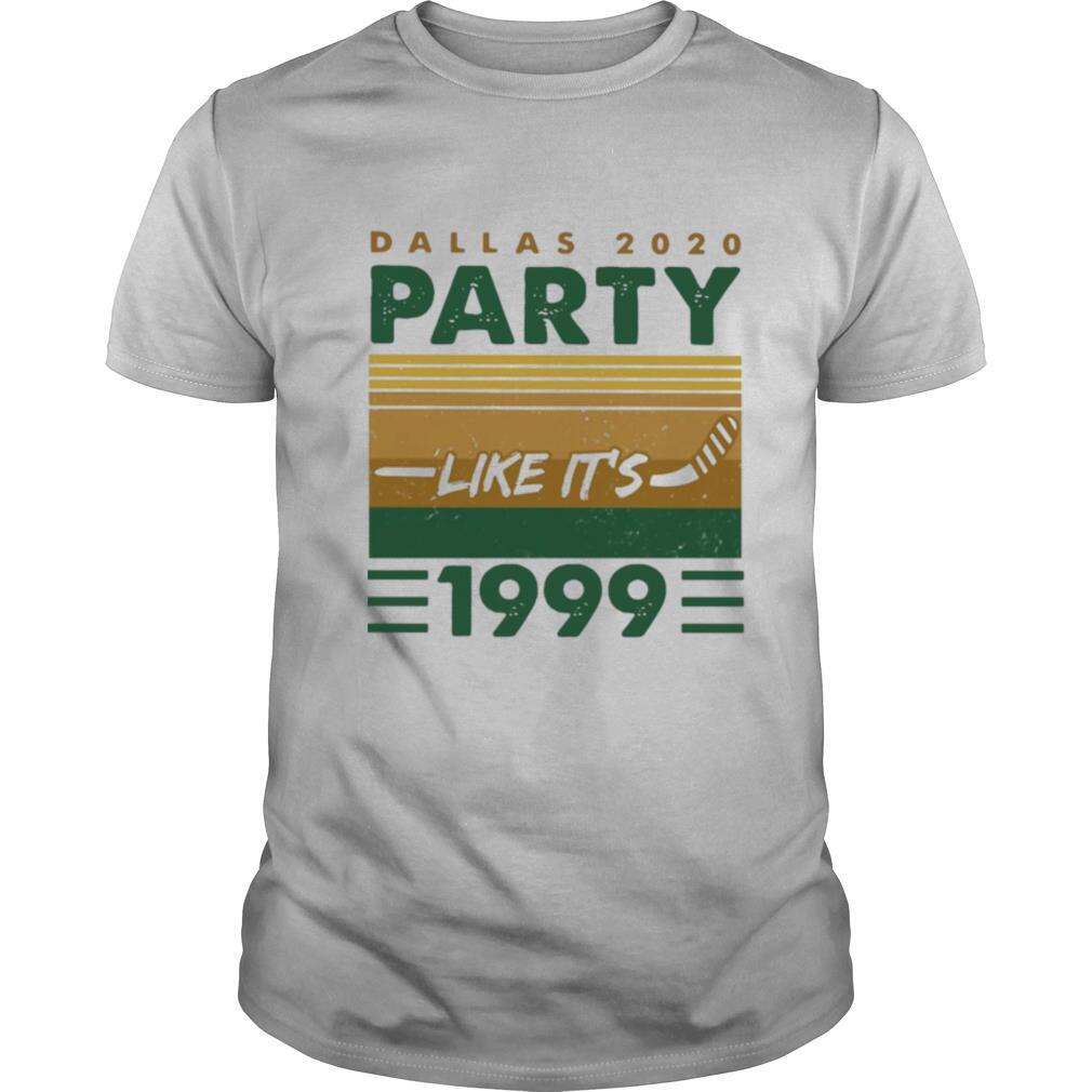 Dallas 2020 Party Like It's 1999 Vintage shirt0