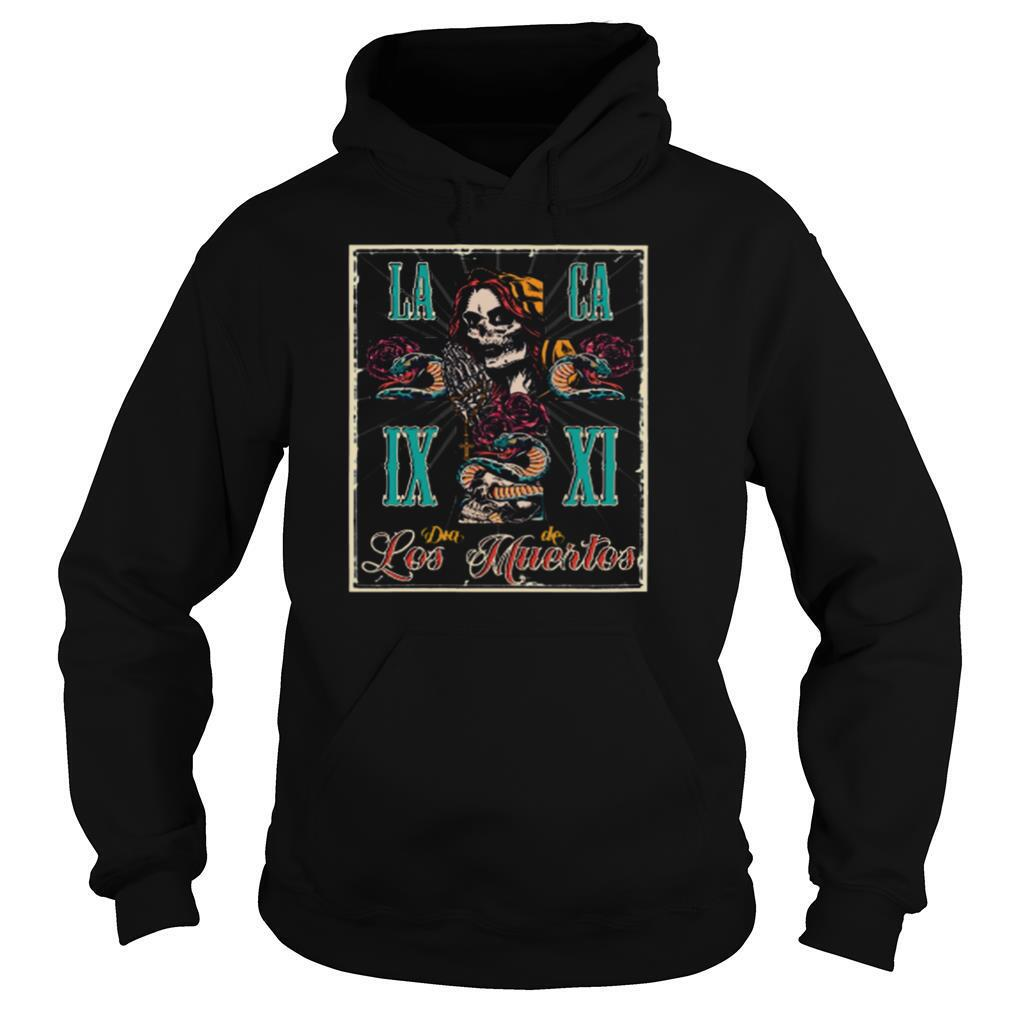 Day Of The Dead Dia De Los Muertos Skull shirt