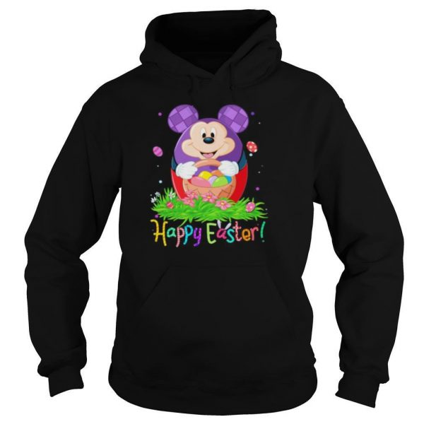 Disney mickey mouse happy easter flower shirt