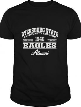 Dyersburg state community college 1946 dyersburg tennessee eagles alumni shirt