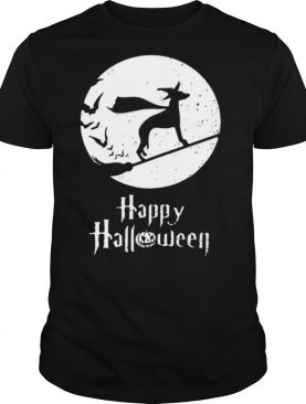 Halloween Witch Whippet Dog Lover shirt