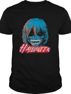 Halloween japanese characters cartoon shirt