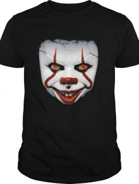 Happy halloween pennywise face shirt