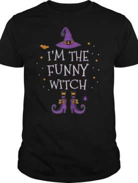 I'm The Funny Witch Halloween Matching Group Costume shirt