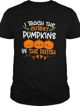 I Teach The Cutest Pumpkins In The Patch shirt