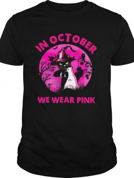 In October We Wear Pink Pumpkin shirt