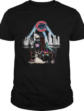 Jack Skellington And Sally Seeing Chicago Cubs shirt