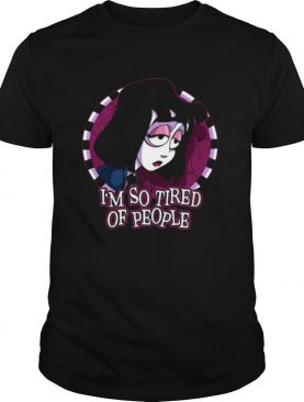 Lydia Deetz Beetlejuice I'm So Tired Of People shirt