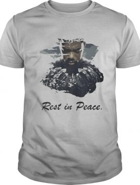 Marvel heroes black panther rip chadwick rest in peace shirt