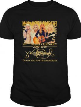 Miranda lambert 20th anniversary 2000 2020 thank for the memories signatures shirt
