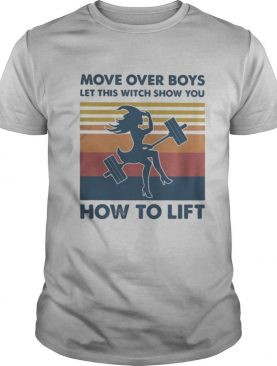 Move over boys let this witch show you how to lift vintage retro shirt