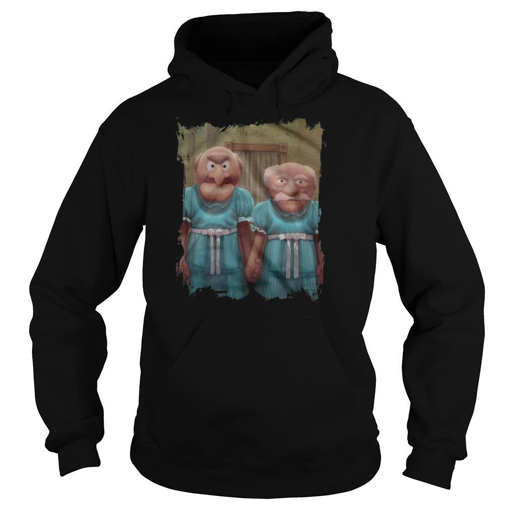 Muppet Maniac Statler And Waldorf As The Grady Twins shirt