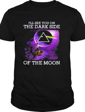 Pink floyd band i'll see you on the dark side of the moon night shirt