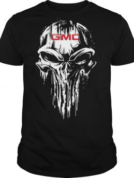 Skull gmc logo halloween shirt