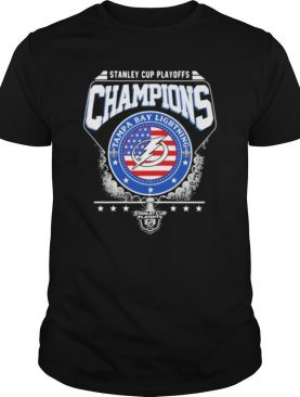 Stanley cup playoffs champions tampa bay lightning 2020 shirt