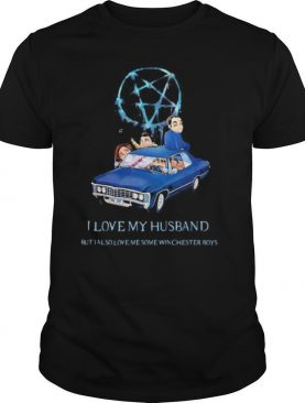 Supernatural i love my husband but also love me some winchester boys shirt