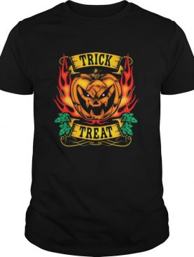 TRICK TREAT PUMPKIN BEAST HALLOWEEN shirt