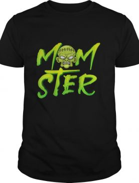 What Happens to Mom on Halloween – Pumpkin Witch Momster shirt