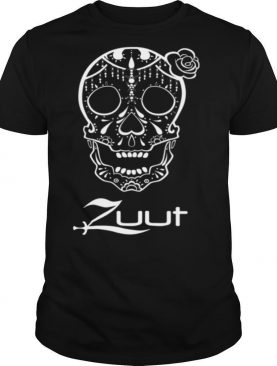 Zuu Sugar Skull Day Of The Dead Muertos shirt